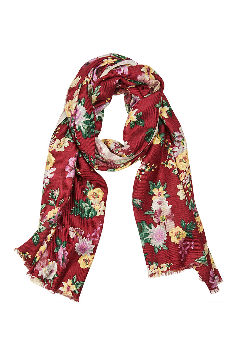 Wanderer Scarf - Plum - Isle of Mine Scarves