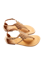 Marquis Sandal - Bisque - Isle of Mine Footwear - Sandals
