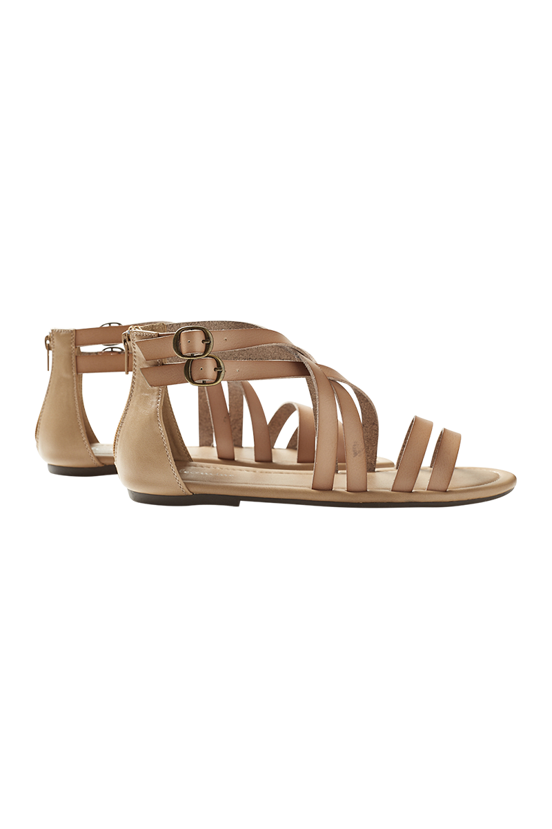 Alcarzar Sandal - Bisque - Isle of Mine Footwear - Sandals
