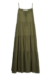 Ivy Palm Maxi - Khaki - Isle of Mine Clothing - Dress Maxi