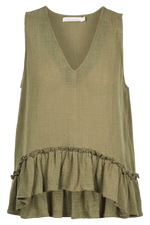 The Sails Tank - Khaki - Isle of Mine Clothing - Top Sleeveless