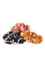 Phoenix Scrunchie - Melon - Isle of Mine Headwear