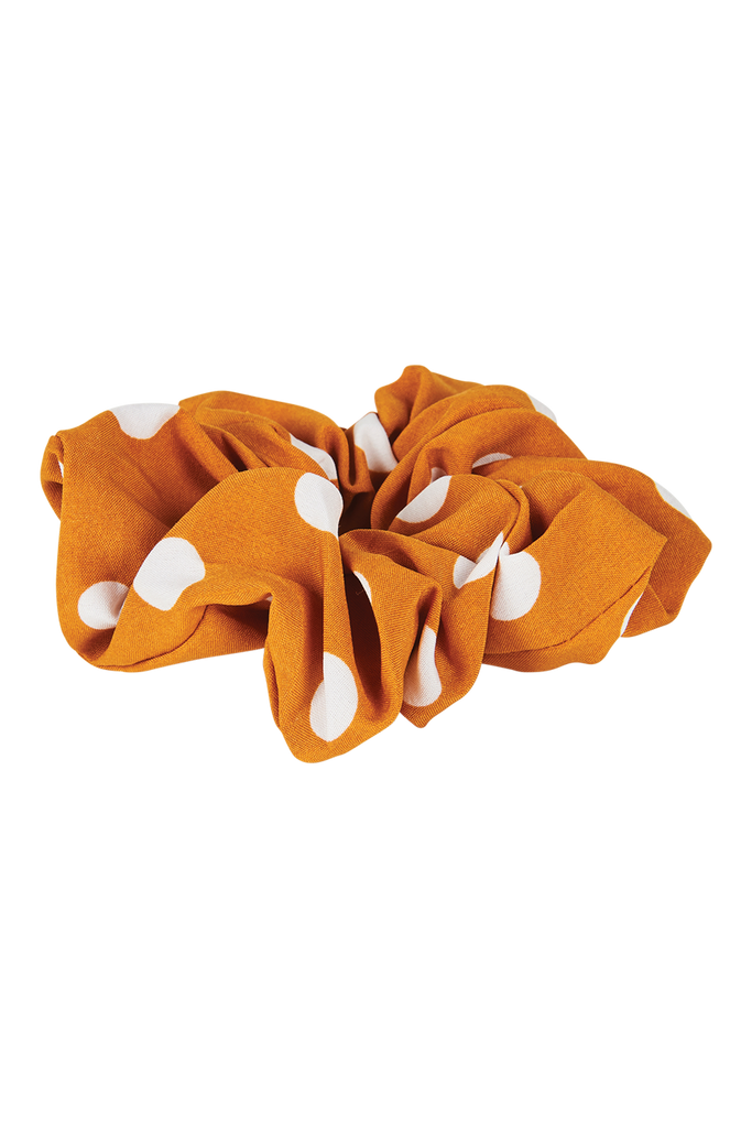 Phoenix Scrunchie - Mustard - Isle of Mine Headwear
