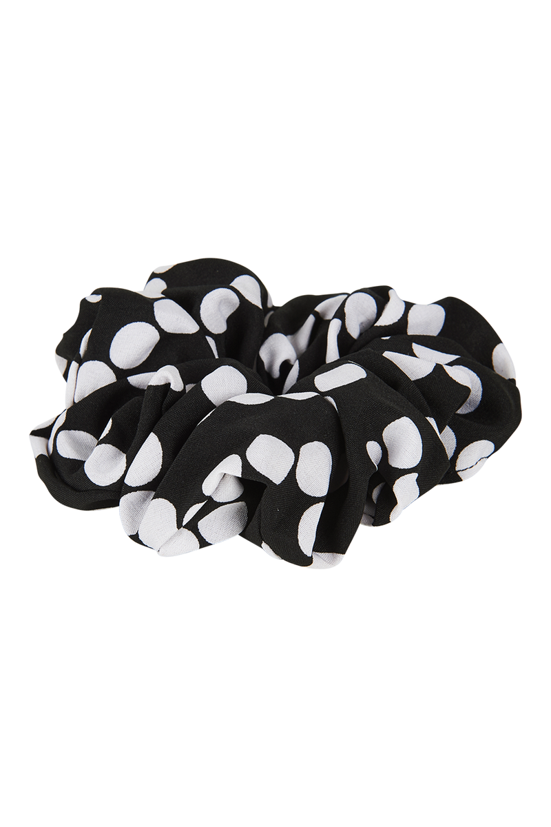 Phoenix Scrunchie - Black - Isle of Mine Headwear