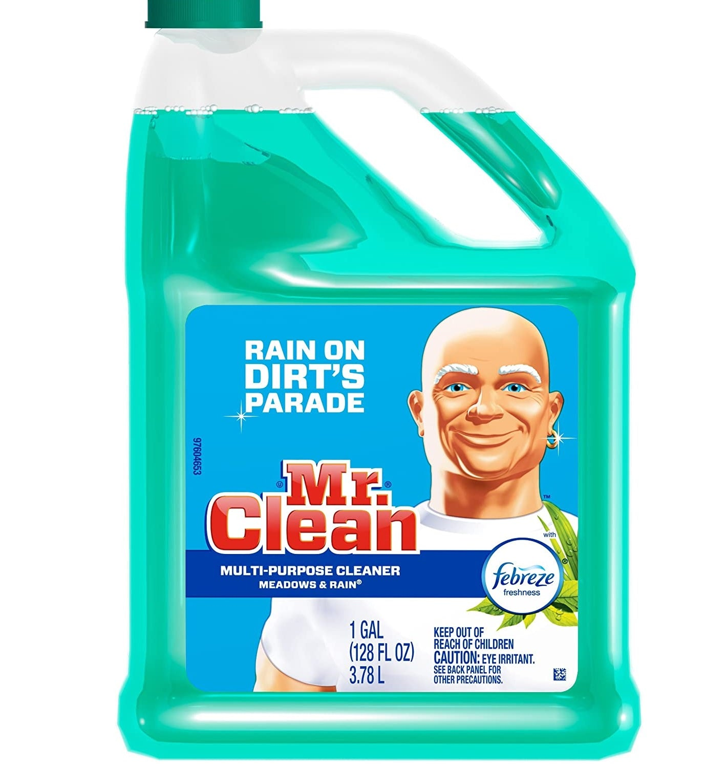 Mr. Clean Multi-Purpose Cleaner with Febreze Meadows & Rain Scent, 1 gal.