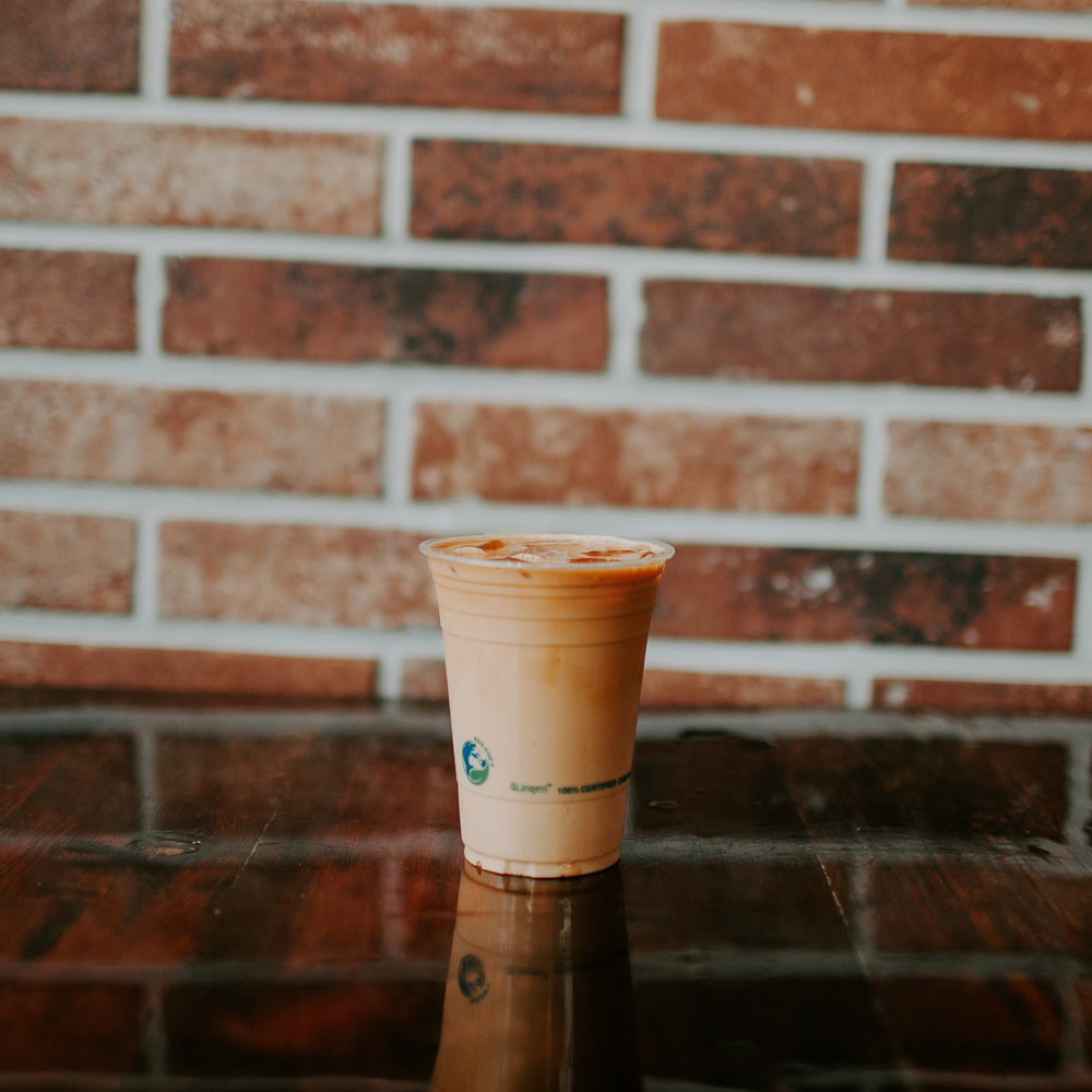 Iced Red Latte