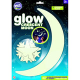 The Original Glowstars Company Glow Crescent Moon - Snug as a Bug