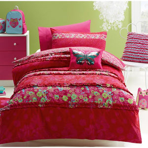 jiggle & giggle katrina duvet cover single size - Snug as a Bug