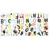 RoomMates Little Explorer Tribal Alphabet Wall Decals