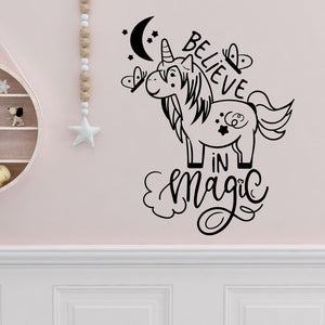 believe in magic wall decals