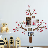 family tree wall decals - colourful leaves - Snug as a Bug