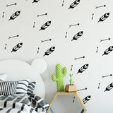 hand drawn arrow wall decals