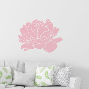 large peony wall decals - Snug as a Bug