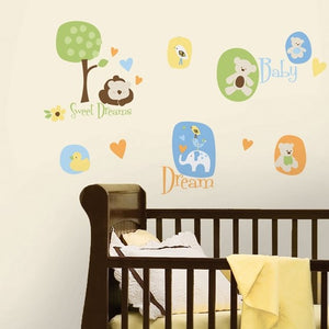RoomMates modern baby wall decals
