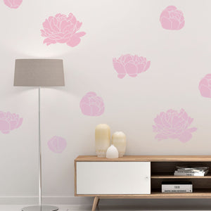 peonies wall decals - Snug as a Bug