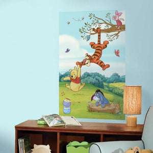 RoomMates pooh wall mural HUGE 152cm high