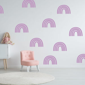 rainbow wall decals - Snug as a Bug
