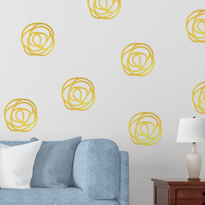 rose pattern wall decals - Snug as a Bug