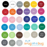 hand drawn dot wall decals - Snug as a Bug