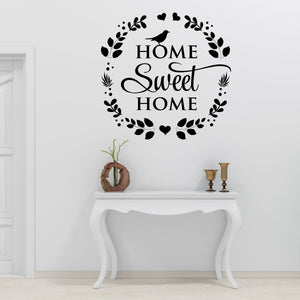 home sweet home wall decals - Snug as a Bug