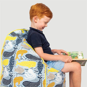 whale bean bag cover - small - Snug as a Bug
