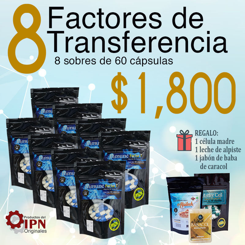 Promotion of 8 factors in capsules