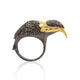 Single Cut Bird Share Diamond Ring