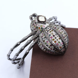 Spider Shaped Tourmaline Bracelet