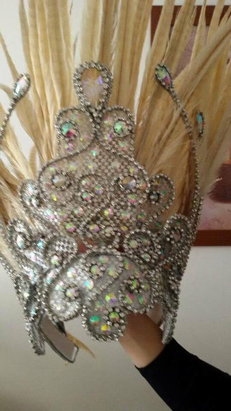 Imperatriz Maxima Crystal Headdress
