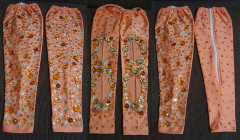 Salmon Samba Arm & Leg Sleeve