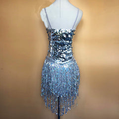 Brilliance Tassels & Sequins Samba Dress
