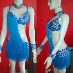 Intense Sparkle Passista Samba Show Dress