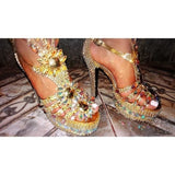 Radiance Crystal Samba Shoes - Special Request Only
