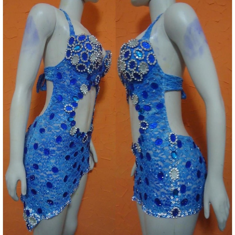 Natalia Lace Samba Shine Dress
