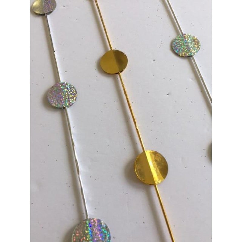 Gold & Silver Dots Acetate