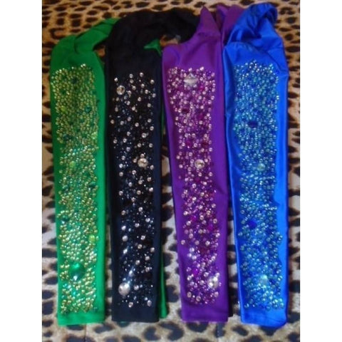 Green, Black, Purple, Royal Blue, Arm Sleeves