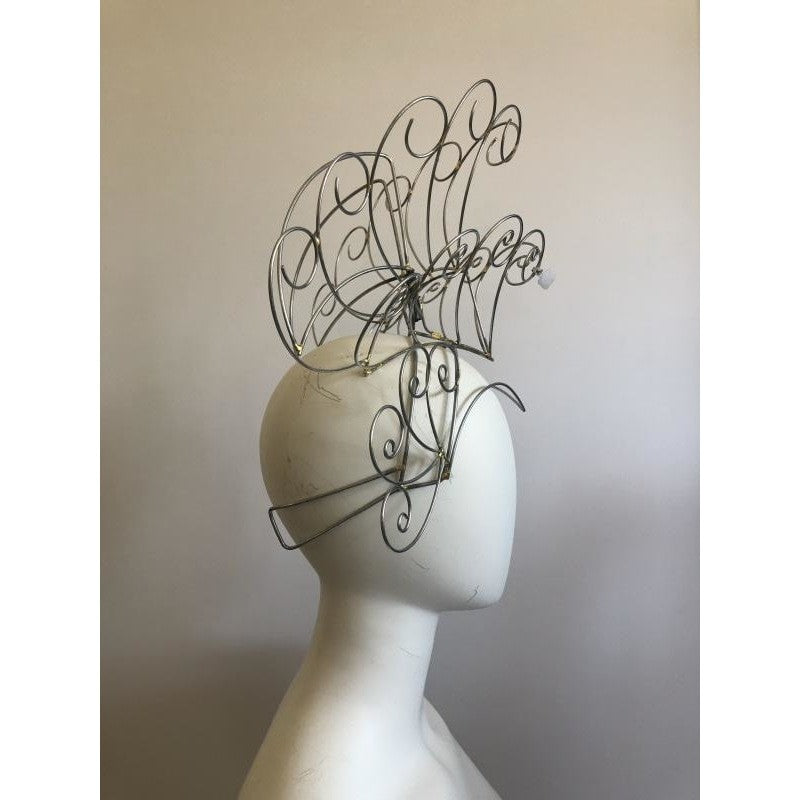 Headdress Wire Frame - Curves and Swirls - BrazilCarnivalShop