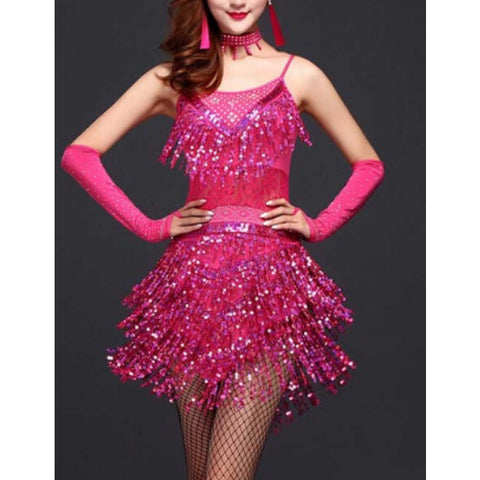 Super Sequinned Samba Fringes Sparkle!