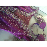 Dreamy Bedazzled Feathery One Piece - BrazilCarnivalShop
