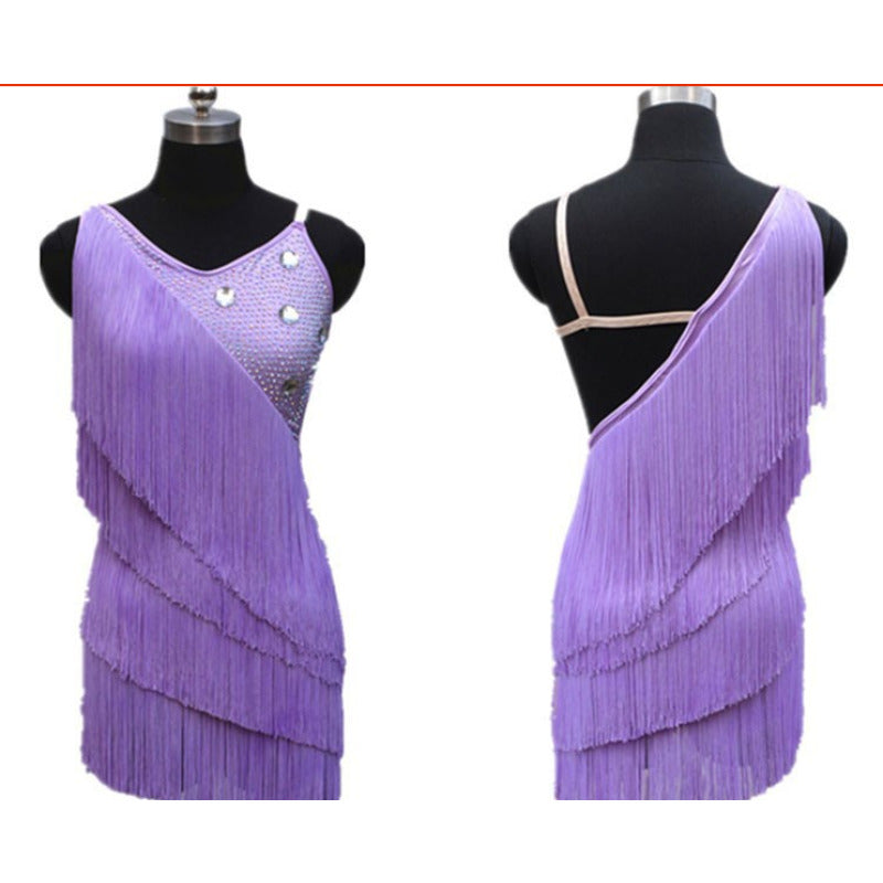 Candy Colors Carnaval Fringes Samba Dress