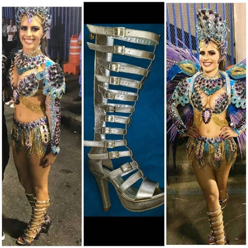 Rainha de Bateria - Leather - BrazilCarnivalShop