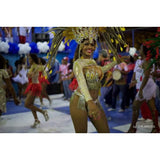 Gold & Yellow Brilliance Samba Costume