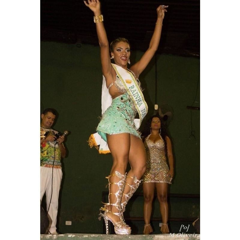 Bedazzled Crystal Samba Shoes - Special Request Only - BrazilCarnivalShop