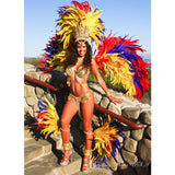 TROPICAL BIRD SAMBA COSTUME