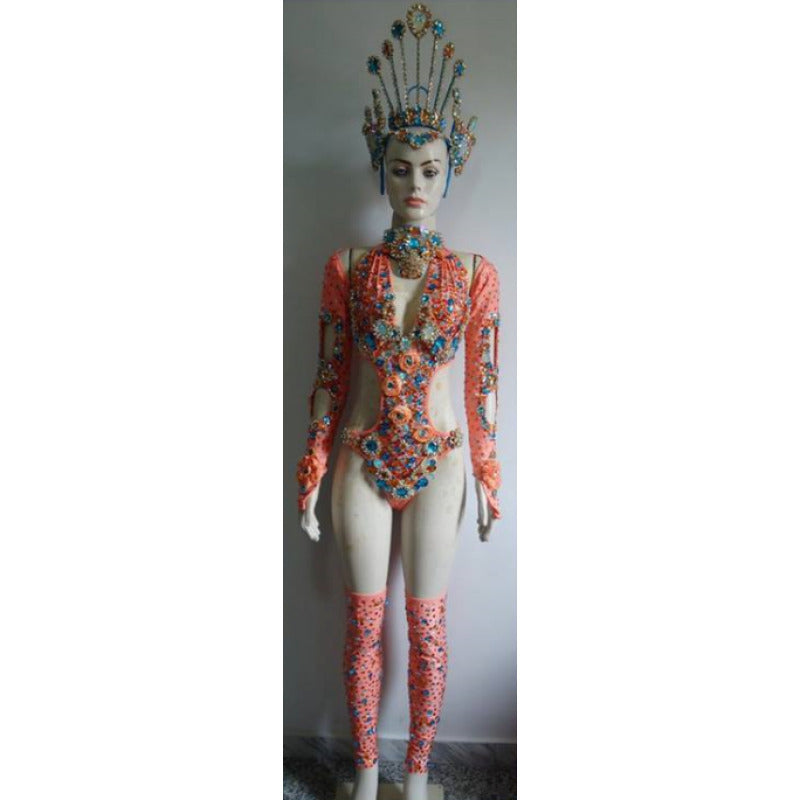 Bejeweled Fascination Complete Samba Costume