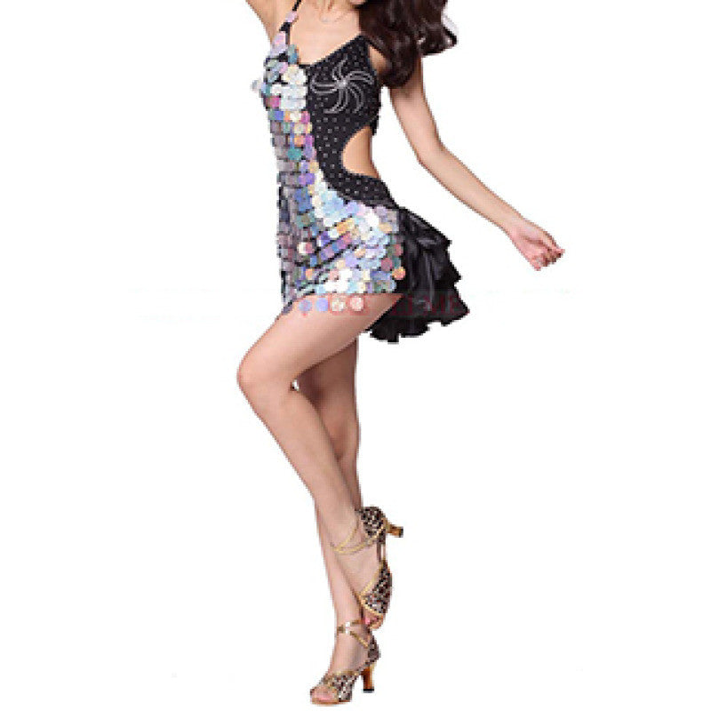 Sequins & Feathers Samba Show Sparkler Dress