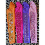 Orange, Hot Pink, Blue, Baby Pink Arm Sleeves - BrazilCarnivalShop