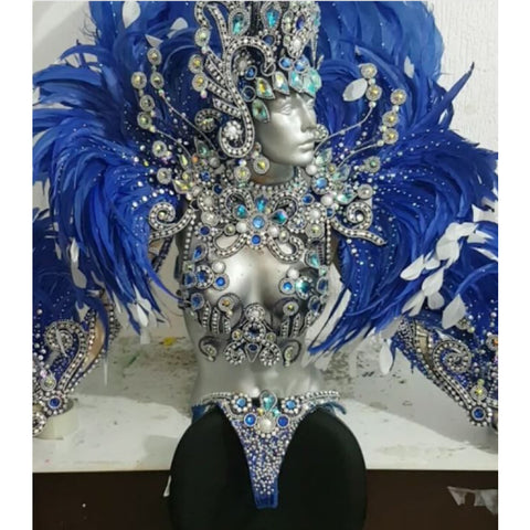 Azul Supreme Luxury Bikini Samba Costume