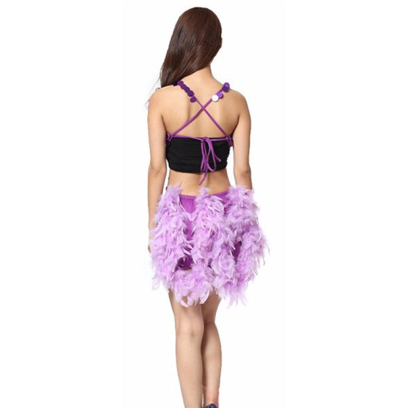 Sequins & Feathers Samba Show Sparkler Dress - BrazilCarnivalShop