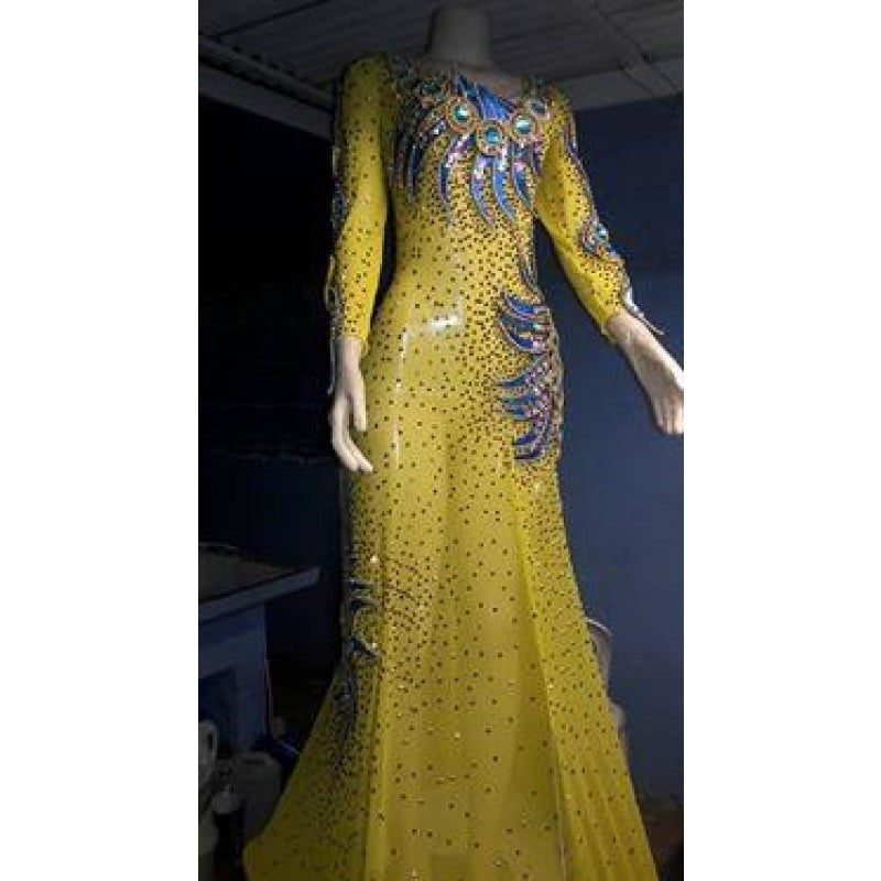 Samba Pageant Luxury Queen Formal Wear